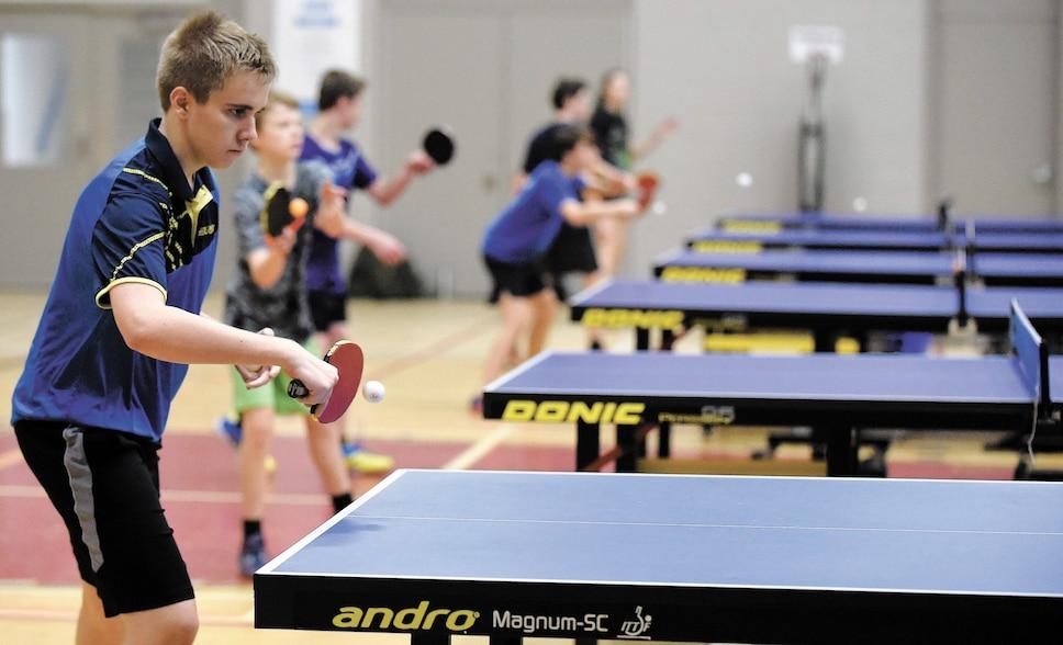 Le ping pong a la cote au Québec