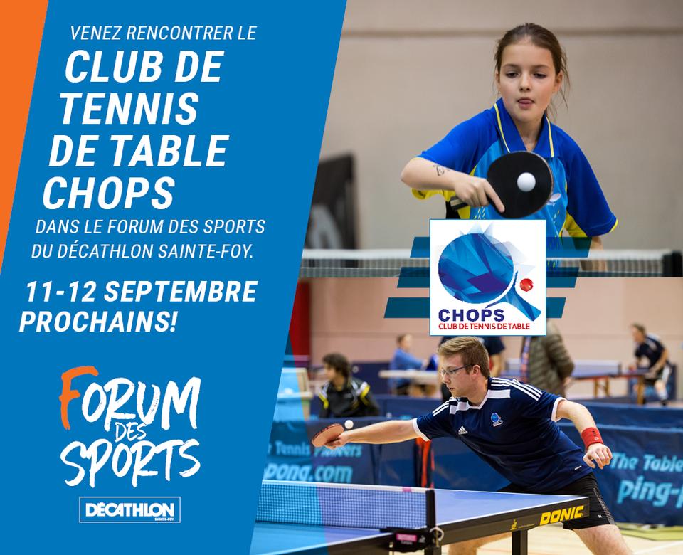 Le Club Chops au Décathlon Sainte-Foy